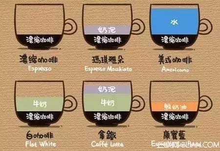 斯摩漫教你認識常見的咖啡種類 - 每日頭條