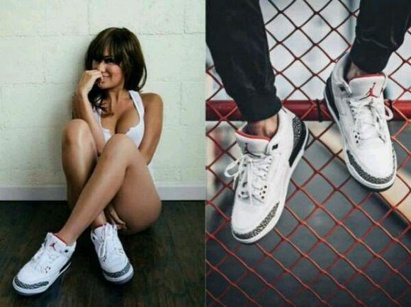 AJ鞋女生穿更帥氣。看明星們上腳的喬丹鞋。郁可唯、范范…… - 每日頭條