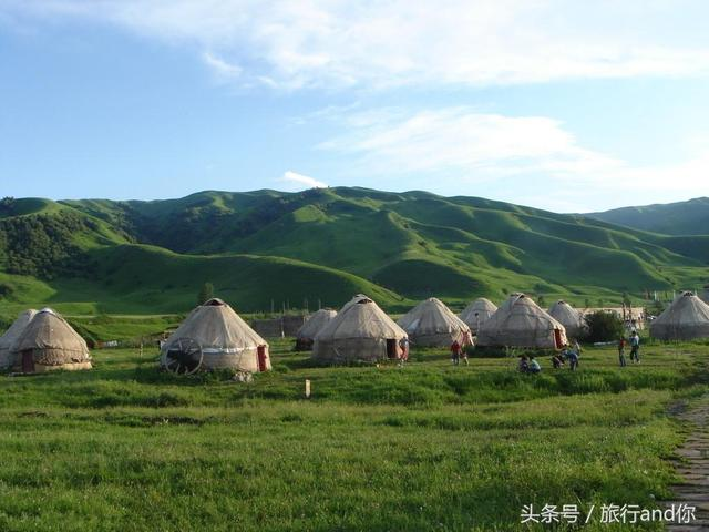 它是新疆的十大風景之一-那拉提草原。一起感受下草原的美吧! - 每日頭條