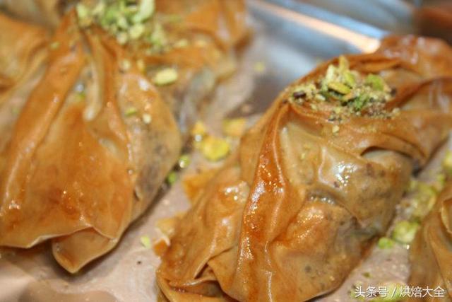 「土耳其甜點果仁蜜餅(Baklava)」最最最詳細的教程!花式教學 - 每日頭條