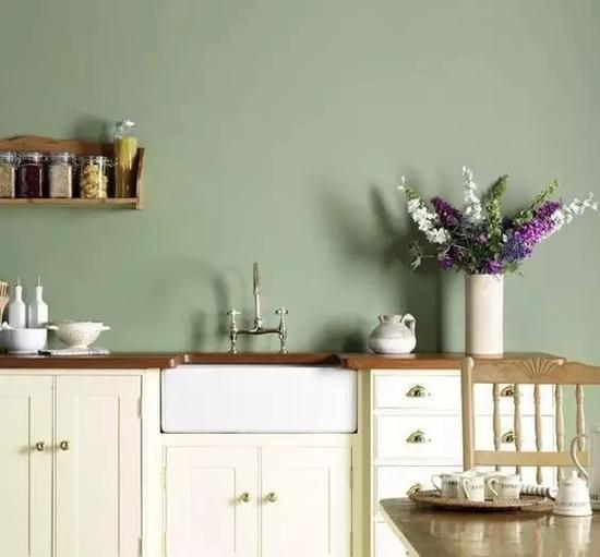 綠色 白色 灰色。調出千萬顏色 最適合大面積上牆的顏色 - 每日頭條