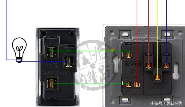 單開五孔插座的接法全在這了。手把手教你怎麼接線。不信你學不會 - 每日頭條