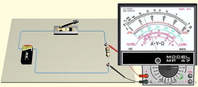 如何用指針式萬用表測量直流電阻 - 每日頭條