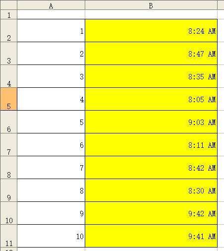 RAND()函數和TIME()函數,從隨機數值到隨機時間的實現過程 - 每日頭條