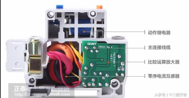 電工基礎—空開和漏電保護器的原理及區別 - 每日頭條