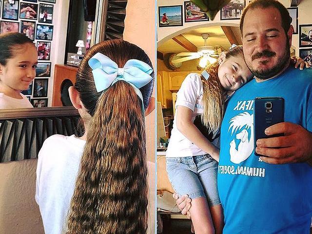 每個有女兒的爸爸。都有成為美髮師的潛力! - 每日頭條