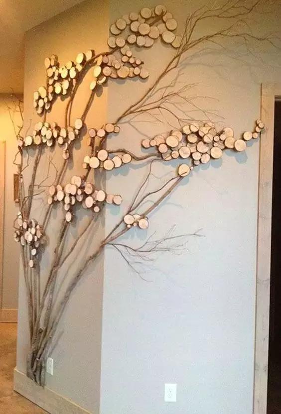 枯樹枝竟蘊藏著這麼大的自然藝術創作潛力!教你DIY枯樹枝 - 每日頭條