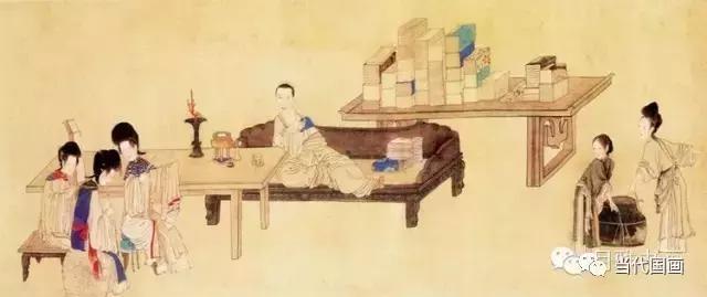 藏於世界各地的中國古代仕女圖 - 每日頭條