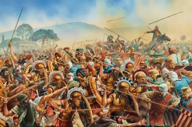 普拉提亞:古希臘城邦與波斯帝國間的陸軍大戰 - 每日頭條