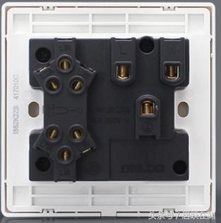 家用開關、插座背面的標識都是什麼意思?知道這些。任何線都會接 - 每日頭條