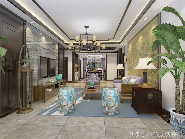客廳該鋪瓷磚還是地板 看你選對了嗎? - 每日頭條