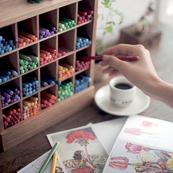芬理希夢的500色彩鉛筆,據說只有文藝的土豪才能集齊~ - 每日頭條