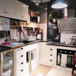 Kitchen To Go Cabinets Modern Wall Decor 从宜家厨房样板间里学到的10个装修套路 每日头条 国内厨房的高度为80 85cm 对于160 170cm身高的人比较合适 宜家这个厨房烹饪区略低 洗碗池和操作台的高度也会让人腰部角度比较自然防松