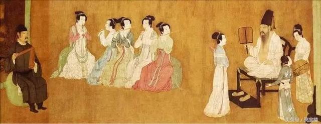 服飾文化·中國服飾:開放的國風,開放的服飾——五代服飾 - 每日頭條