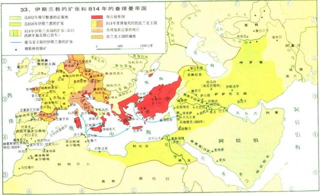 公元8世紀世界歷史大事記:唐帝國盛極而衰,阿拉伯擴張終止 - 每日頭條