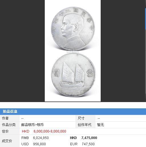 「大清銀元」及「民國銀幣」價格一度飆升 價格還會水漲船高 - 每日頭條