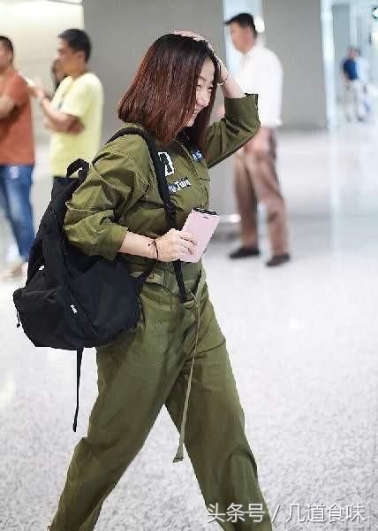 陶晶瑩軍工裝連身褲素顏現身,網友:是我眼神不好還是這不是她? - 每日頭條