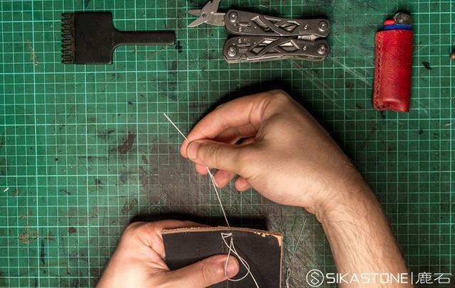 手工皮革基礎之手縫十字針法 - 每日頭條