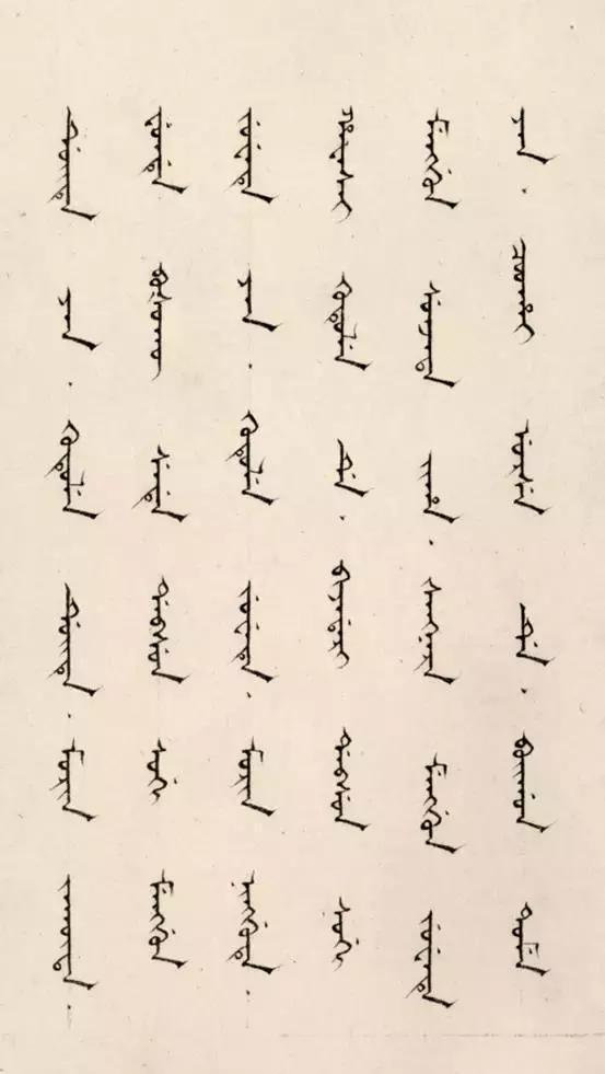 曾在歷史上留下濃墨重彩的文字——滿文 - 每日頭條