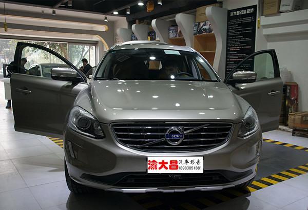 沃爾沃XC60汽車音響改裝德國零點+全車安博士隔音降噪重慶渝大昌 - 每日頭條