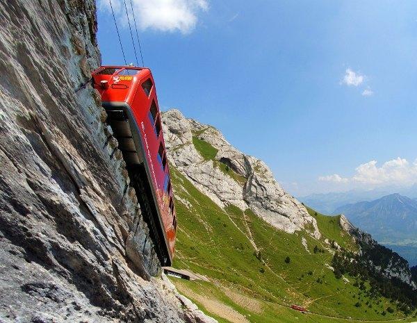 瑞士攻略-特色列車盤點 - 每日頭條