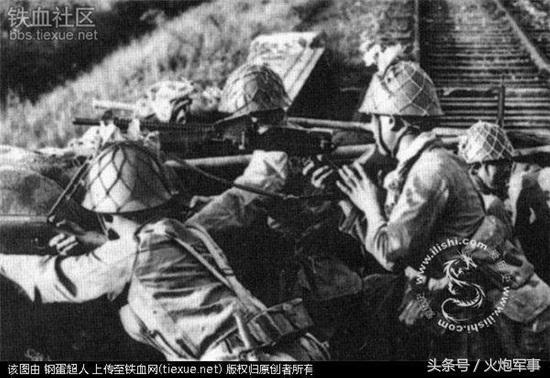 日本鬼子的歪把子機槍究竟有多厲害? - 每日頭條