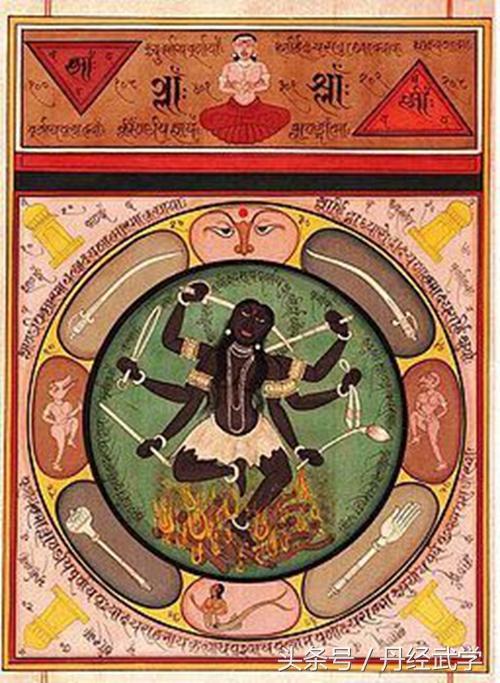 印度神畫丨古典密教冥想圖 神聖瑜伽啟示錄 - 每日頭條