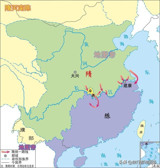 三國的東吳和南北朝的陳朝,為何如此相似? - 每日頭條