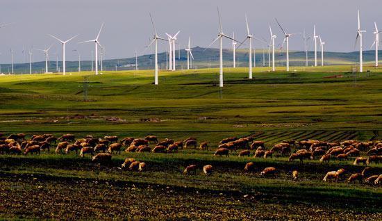 內蒙古草原上的「風電之都」 - 每日頭條