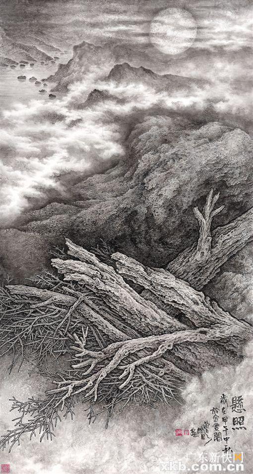 葉其嘉:南方樹種豐富,對畫家是福氣 莫肇生:「樹格」展喚起民眾的環保意識 - 每日頭條