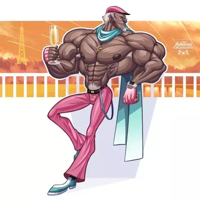 這一組肌肉爆炸的漫畫。太牛B了! - 每日頭條