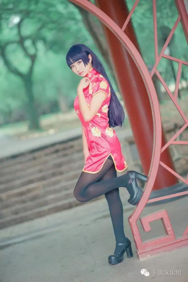 cosplay正片女神集錦:動漫里的改良旗袍 - 每日頭條