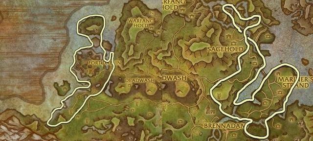 魔獸世界:錨草世界任務—天降一萬金幣 錨草刷新點總結 - 每日頭條