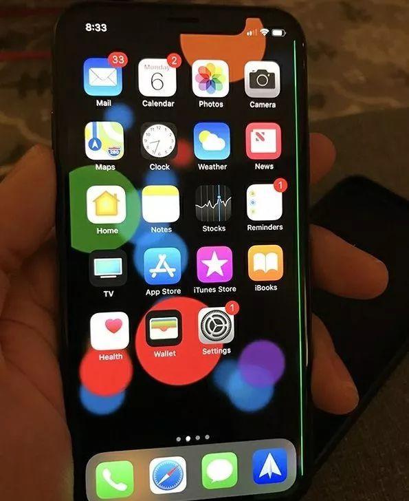 iPhone X螢幕出現綠線問題 網友:該慶幸我窮沒買麼? - 每日頭條