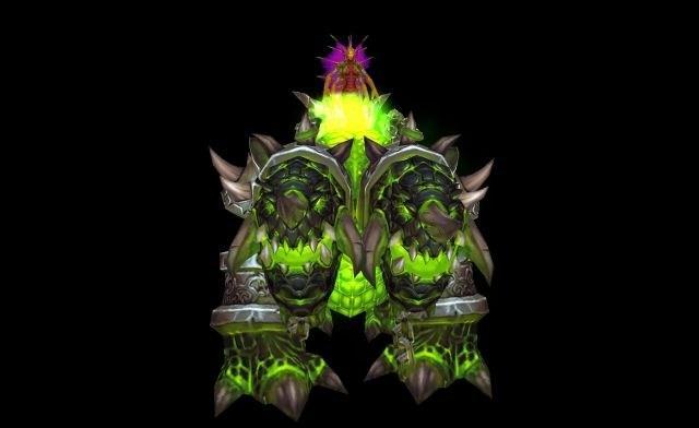 魔獸暗夜要塞掉落鍛造坐騎圖紙:綠色熔巖犬 - 每日頭條