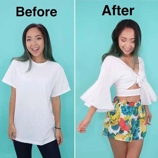 她改造媽媽的舊衣服,10分鐘獲15w點擊 - 每日頭條