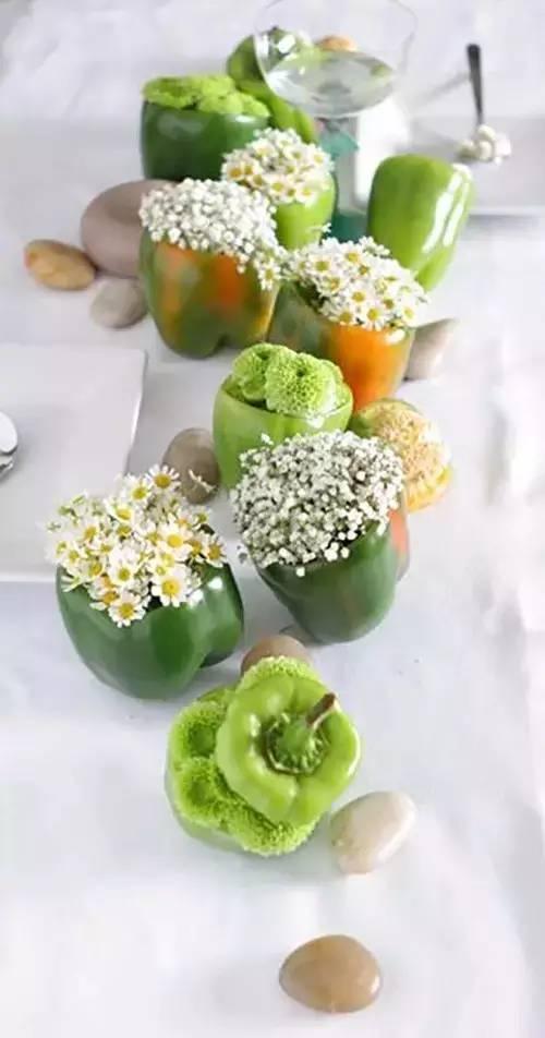 吃不完的蔬果別扔了。做成這樣子美艷你的家 - 每日頭條