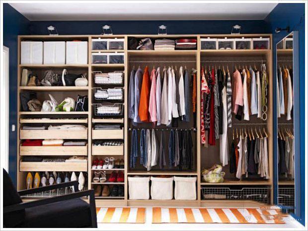 衣櫃收納整理有技巧。簡單方法讓您的衣櫃瞬間整潔 - 每日頭條