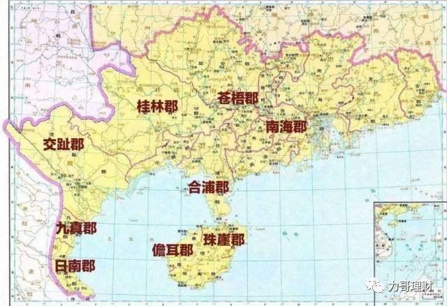 越南人說兩廣地區曾屬於越南的領土,是真的嗎? - 每日頭條