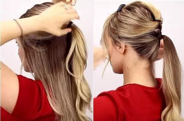 這樣扎頭髮,氣質瞬間提升,太美了! - 每日頭條