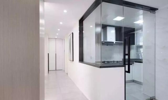 廚房的門適合選擇哪一種?玻璃門好像挺合適的 - 每日頭條