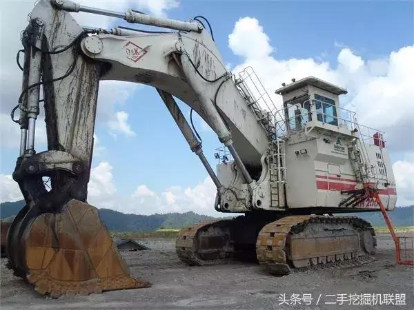 最大的挖掘機你都認識麼?大型挖掘機排行榜TOP10 - 每日頭條