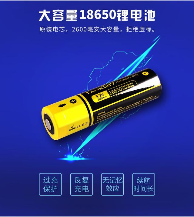 18650鋰電池究竟是何方神聖?竟然在手電市場中應用如此之廣 - 每日頭條