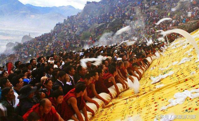 西藏最隆重的節日之2017拉薩雪頓節 - 每日頭條