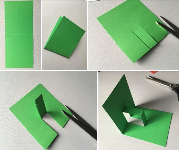 立體卡片怎麼做?看這裡就行啦!簡單易學。陪娃就這麼簡單 - 每日頭條