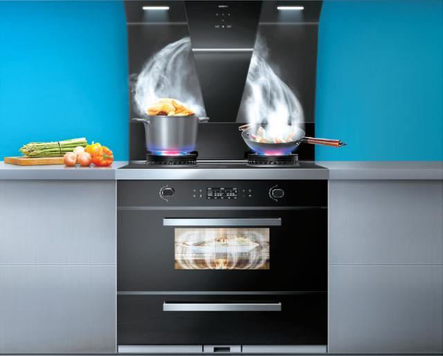 創新精品老闆集成油煙機實測:多快好省。助力高效品質廚房 - 每日頭條