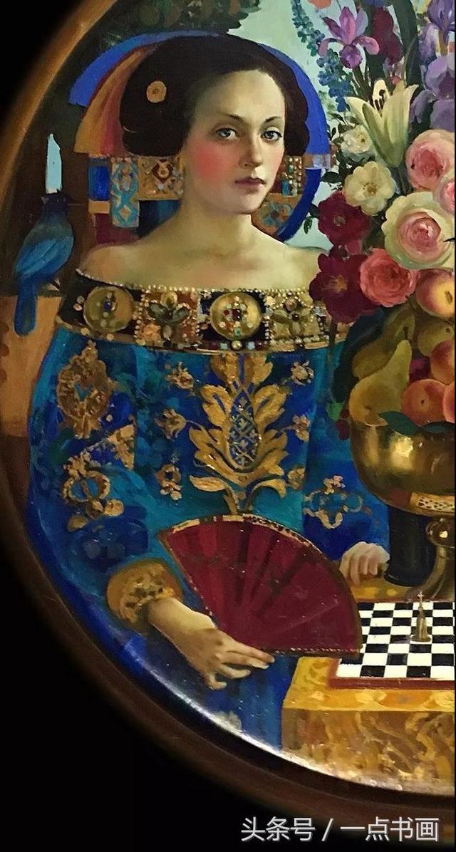 色彩造型,嘆為觀止——奧爾加·依格溫娜·蘇洛娃油畫作品欣賞 - 每日頭條