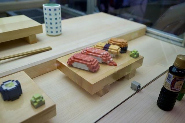 馬賽克一般的 3D 列印壽司,可能沒有人願意吃 - 每日頭條