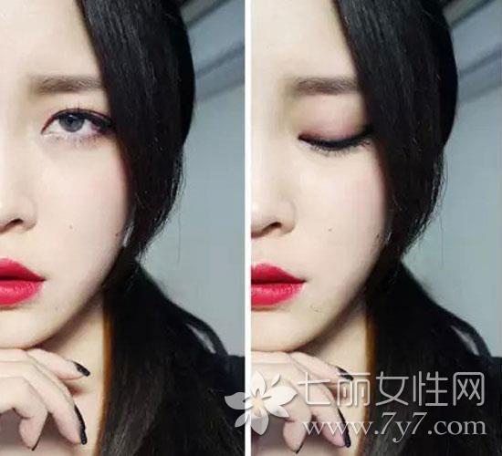 復古紅唇妝容怎麼化 韓國彩妝博主Leesusu彩妝技巧私密分享 - 每日頭條