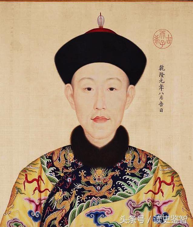 清乾隆皇帝十二妃嬪官方肖像,每位都是雍容端莊而不失皇家華貴 - 每日頭條